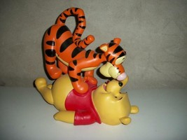Extremely Rare! Disney Winnie the Pooh and Tigger Playing Big Figurine S... - $742.50