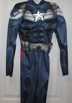 Marvel's Civil War Captain America Iron Man Costume Avengers Boys Child NO MASK - $13.49