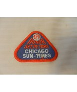 I Beat The Champ BPA Chicago Sun-Times Bowling Patch Honor Secretary 1980s - $7.43