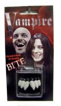 PROFESSIONAL THREE TOOTH VAMPIRE FANGS real looking teeth JN115 fake vam... - $6.27