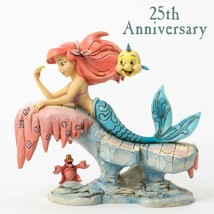"6.25"" ""Dreaming Under the Sea"" Little Mermaid - Jim Shore Disney Traditions image 1"
