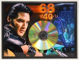 Elvis Presley Limited Edition 24 Kt. Gold CD Display Plaque - $56.95