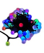 LED Color-Changing Linkable 16 Feet Christmas Light String with 50 RGB G... - $19.98