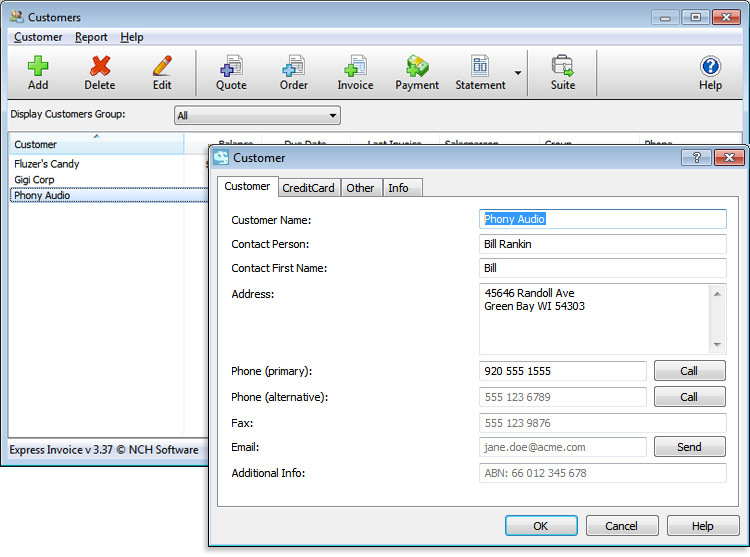 Nch Express Accounting Software