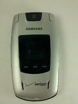 Samsung Verizon Silver Model SCH-U540 Flip Style Cell Phone - $15.12