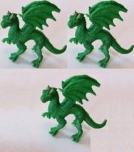 Doll House Shoppe 3 Toy Green Dragon SL348822 Micro-mini Miniature - $3.05