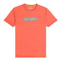 Men's Psycho Bunny Short Sleeve Logo Tee Rush Up Reflective Coral T-Shirt