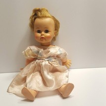 "Vintage Ideal Toy Co Blonde Blue Eyes Doll K-16 2 16"" tall - $30.00"