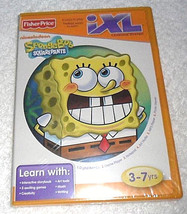 Fisher-Price iXL Learning System Software Spongebob Squarepants 3-7 yrs. - $4.95