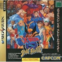 X-MEN VS STREET FIGHTER Sega Saturn Japan Game - $97.02