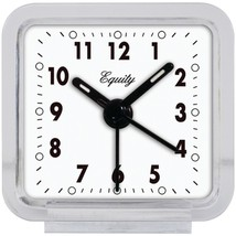 Equity by La Crosse 21038 Clear Quartz Alarm Clock - $22.66