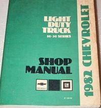 1982 Chevrolet Light Duty TRUCK 10 20 30 SERIES Service Repair Shop Manual OEM - $89.09