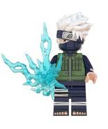 Kakashi with Chidori - Naruto Series Ninja Custom Minifigures Building Toys - $2.99