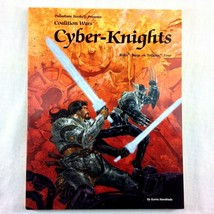Palladium RPG RIFTS Coalition Wars Cyber Knights Tolkeen Four 2000 Siemb... - $12.86