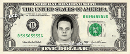 Auston Matthews Toronto Maple Leafs on a REAL Dollar Bill Cash Money Col... - $8.88