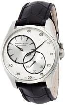New Hamilton Jazzmaster Regulator Men's Automatic Leather Watch H42615753 - $688.05