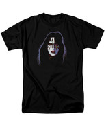 Kiss Ace Frehley Cover T Shirt Licensed Hard Rock N Roll All Night Black - $17.99+