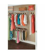 "Closet Maid Double Hang Rod, Nickel 22"" x 38"" H, 23"" x 39"" W Model# 31220 - $29.69"