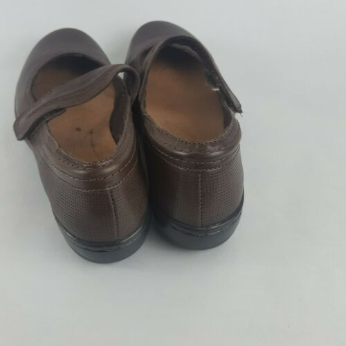 Clarks Mary Jane Flats Brown Women's 7M