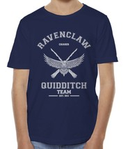 CHASER Old Ravenclaw Quidditch team W ink Kid / Youth Tee T-shirt Navy - $20.50