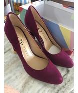 Katy Perry 5.5 Heels Purple Grape Suede - $147.51