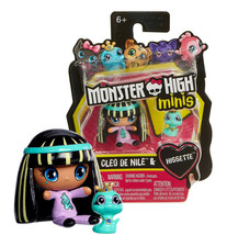 Monster High Minis Cleo De Nile & Hissette Pet New in Package - $9.88