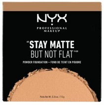 NYX STAY MATTE BUT NOT FLAT Powder Foundation - Soft Beige - $9.29