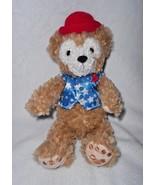 Disney Parks Hidden Mickey Duffy Bear Plush Stuffed Animal Star Vest Pat... - $24.63