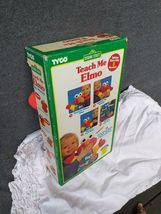 New Box Vintage Teach Me Elmo Original 90's 1996 Tyco Plush Doll Sesame Street image 7