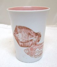 1976  Fritz and Floyd Coquille Cup Tumbler 3 1/2 In Great Shape Seashell... - $29.21