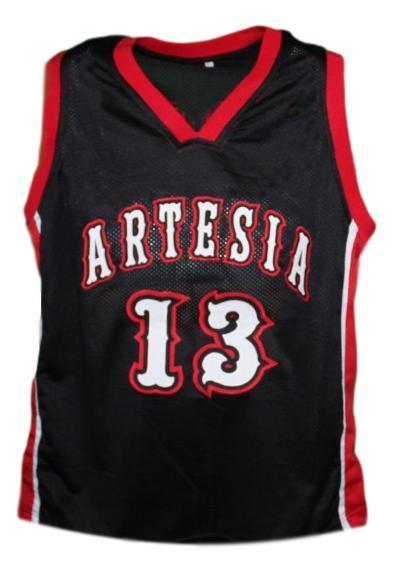 James harden artesia high school basketball jersey black   1