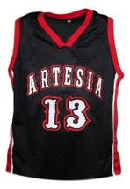 James Harden #13 Artesia High School Basketball Jersey New Sewn Black Any Size image 1