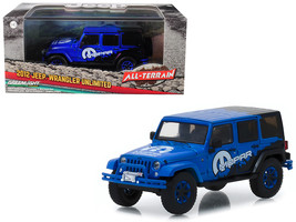 "2012 Jeep Wrangler Unlimited ""MOPAR\"" Off Road Edition Blue \""All-Terra... - $25.72"