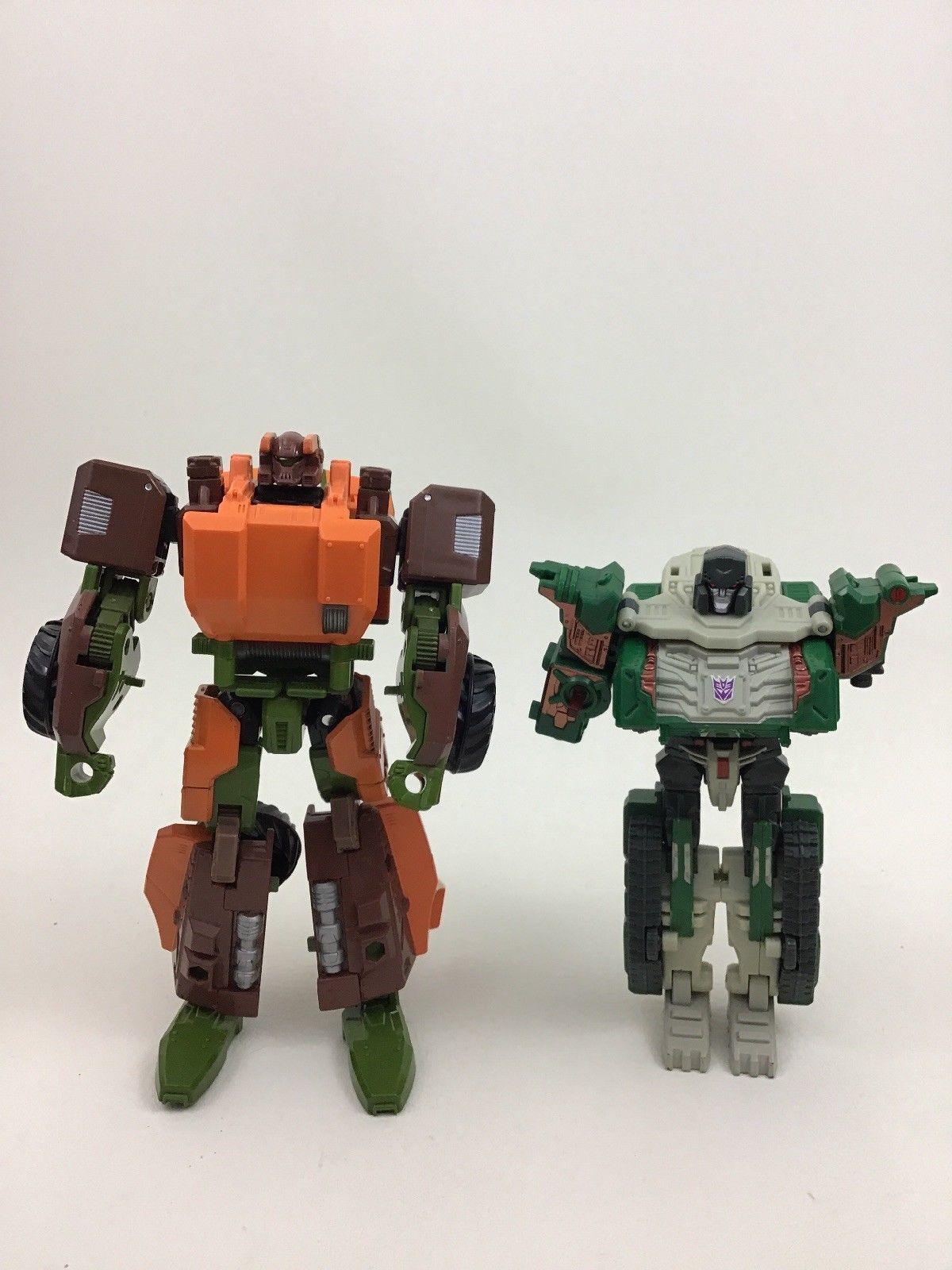 Transformers Lot Autobots Decepticons 11pcs Toy Figures Vehicles Parts Hasbro A7