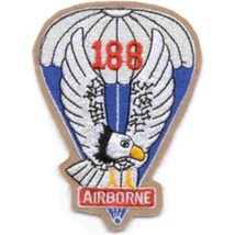 188TH Airborne Infantry Regiment Patch - $8.50
