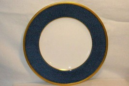 Wedgwood Blue Stippled Band Pattern W6262 Salad Plate Swinburne Ulander - $20.78
