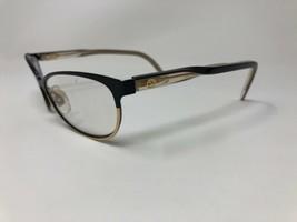 0bde050f054e AUTHENTIC GUCCI Eyeglasses Frame Italy GG4256 4SL 53-16-140 Black Fold  Split 484