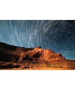 Mountain & Star Spiral -  Art Picture Poster Photo Print 1MNTN - $14.99+