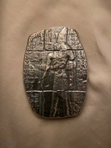 3 oz .999 fine silver Egyptian  relic bar Horus ISIS with bag- antiqued - $125.72