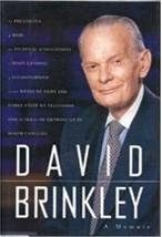 David Brinkley, A Memoir, TV News, by David Brinkley,Biographies & Cel... - $18.75