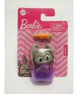 Barbie Pet Bunny Rabbet Basket Carrot Accessories Toy Mattel 2020 New - $3.99