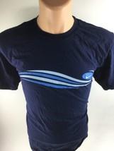 NIKE Graphic Pullover Short Sleeve Blue Cotton Crewneck T-Shirt Men's Size Large - $16.66