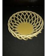 """Ceramic Bread Basket or Fruit Basket Oven Safe 9.5 """" Lindsey Jordan Desi... - $34.65"""