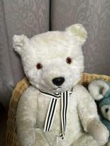 Chiltern Music Box Bear Antique Teddy Bear Ivory - $422.02