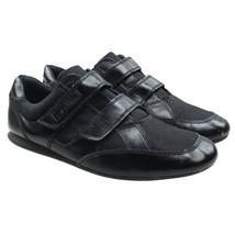 CALVIN KLEIN Mens Size 11 Black Strap Closure Fashion Street Sneakers - $24.74