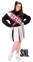 Fun World Spartan Cheerleader Snl Sabato Notte Live Plus Costume Halloween - $30.44