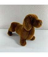 "Douglas Cuddle Plush Toy Dachshund Wiener Brown Dog Stuffed Animals 10"" ... - $14.85"