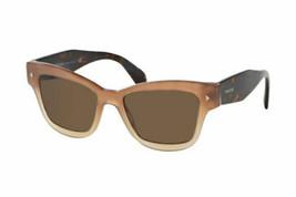 New Prada Sunglasses PR29RS UBI8C1 51mm Women's Brown Lens Fast Ship - $136.80