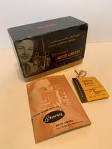 Kodak Little Brownie 8mm Movie Camera Box, Manual & Original Tag with Price - $28.00