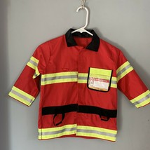 Melissa & Doug fire chief costume, top only no accessories, size 3-6 yrs. - $7.99